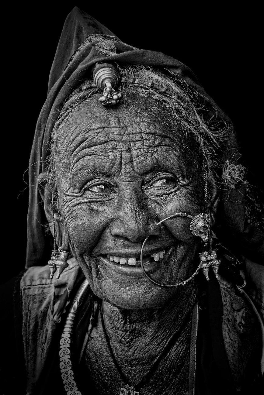 Rajasthani tribal woman