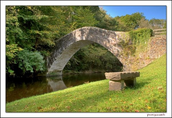 The Bridge at Pontygwaith by glyndwr