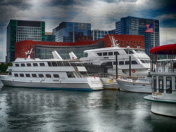 A View Of Boston Harbor (best viewed large) by gconant