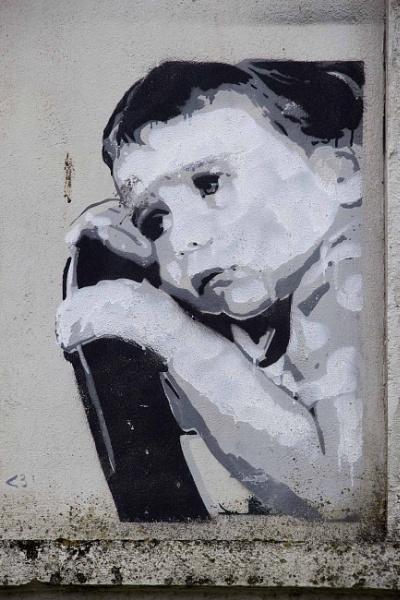 Banksy style painting 2 by yultony