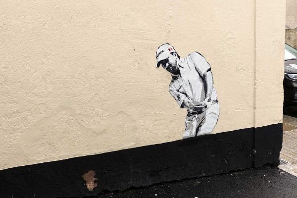 Banksy style painting 3 by yultony
