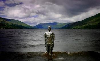 The Mirror Man of Loch Earn