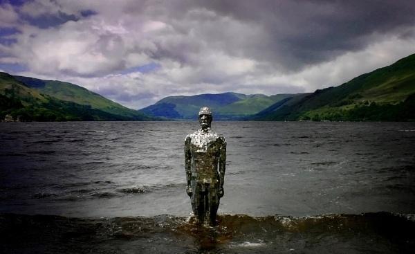 The Mirror Man of Loch Earn by Eckyboy