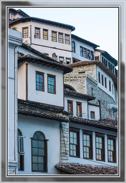 Windows of Berat by nklakor