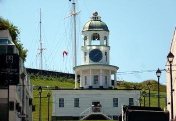 Old City Clock. Halifax. Nova Scotia