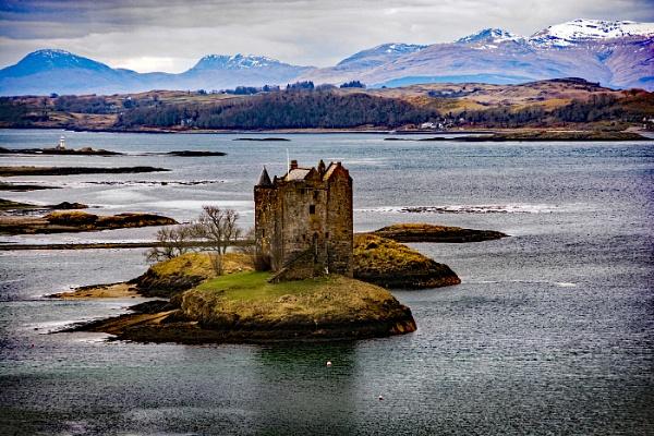 Castle Stalker by dven