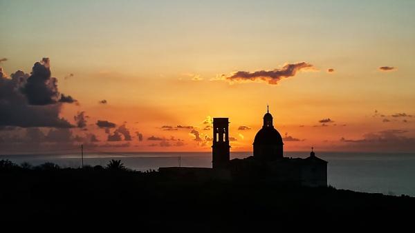 Sunset At Mtahleb by Xandru