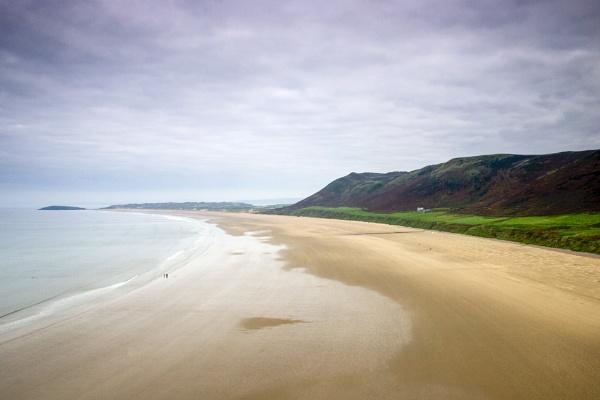 Rhossili Beach by blrphotos