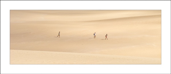 Crossing the Dunes by Steve-T