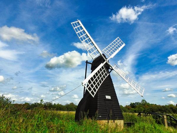 Fenland Windpump by dflory