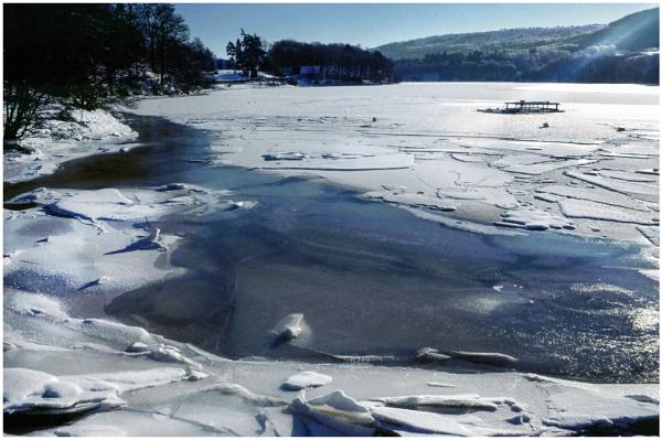 Frozen Loch Rannoch by mac