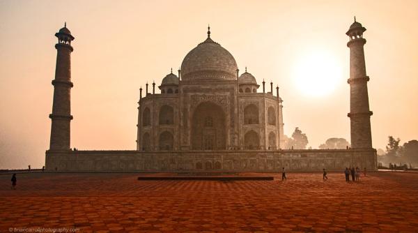Taj Mahal, Agra, India by brian17302