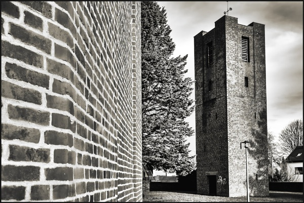 Church With Tower by kw