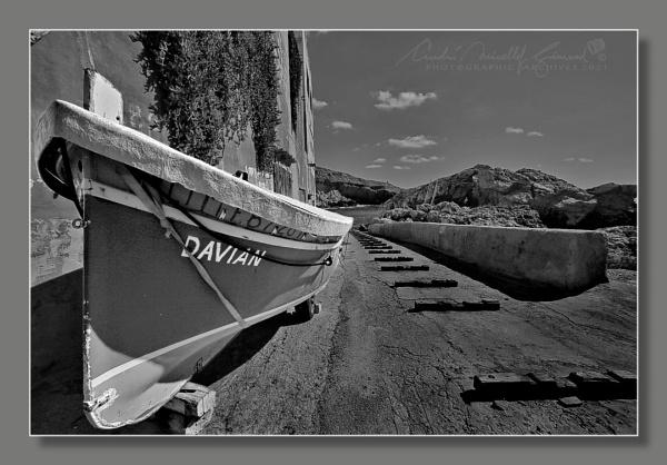 Davian on the Slipway by Kemmuna