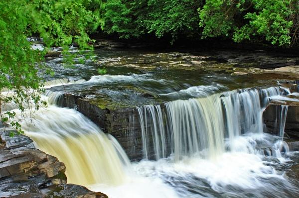 New Lanark Falls by Rose73