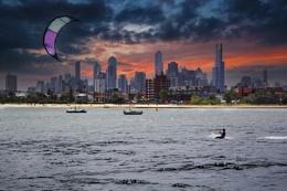 Kite Surfing in Melbourne.