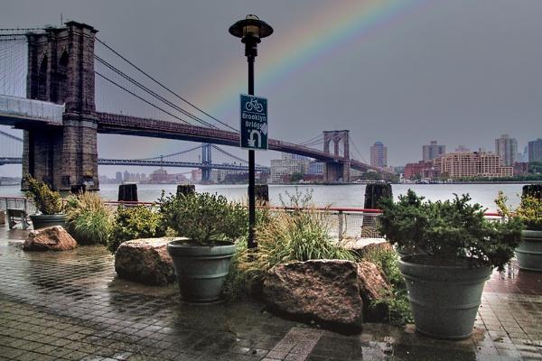 Brooklyn Shower by sandwedge