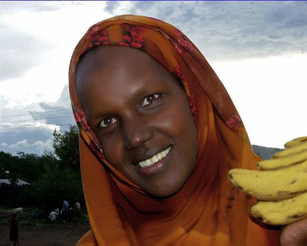 Kenyan lady by JuBarney