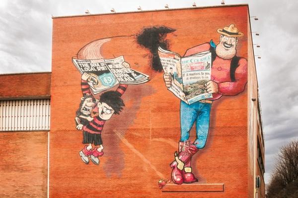 Street Corner Boys by scrimmy