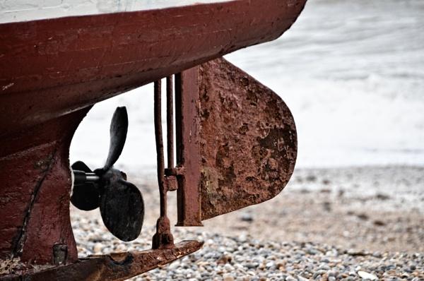 Rusty Rudder by EG