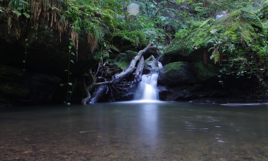 Ewloe waterfall
