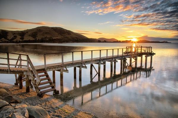 Pounawea Sunrise by capturingthelight