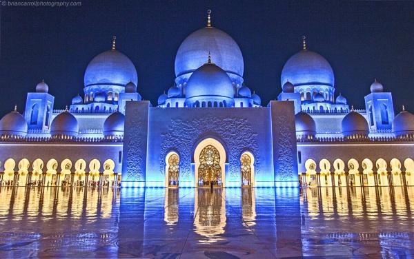 Sheikh Zayed Grand Mosque, Abu Dhabi, UAE by brian17302
