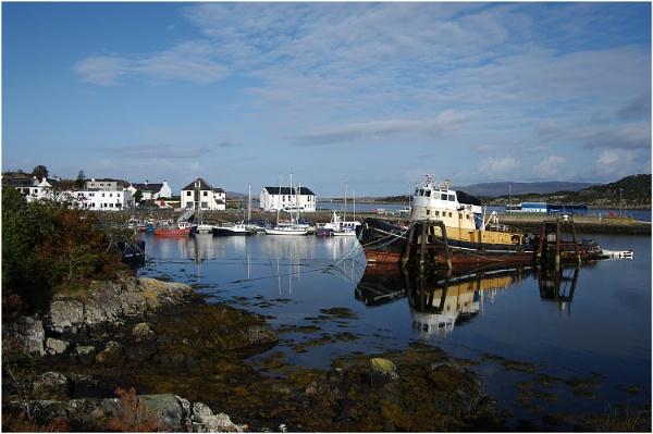 Kyleakin Harbour by johnriley1uk