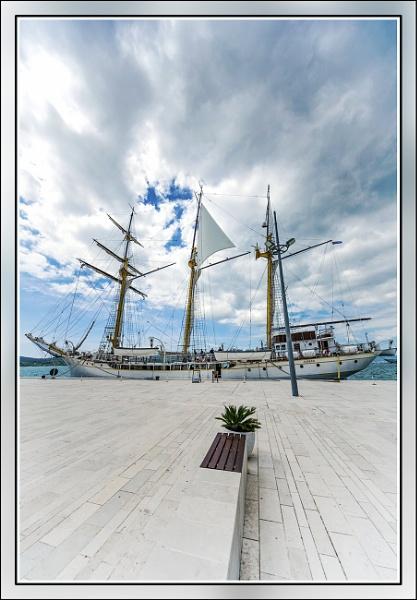 Navy training ship \'\'Jadran \'\' by nklakor