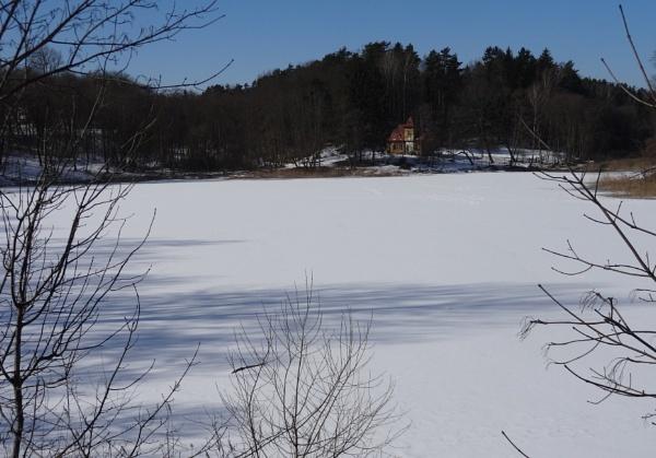 Shadow on the ice by SauliusR