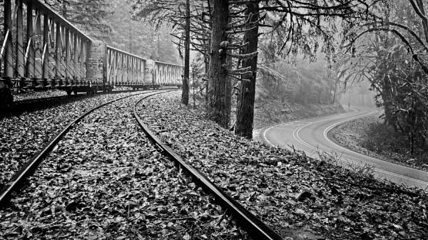 Rural Railroad by DPW