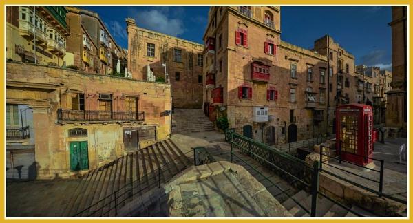 THE BRIDGES OF VICTORIA GATE ----- VALLETTA MALTA by Edcat55