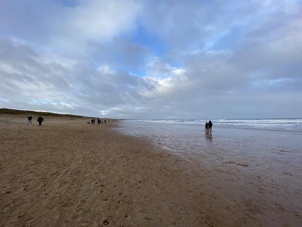 Winter Beach walk Seaton Sluice jan 2021 by topcatj