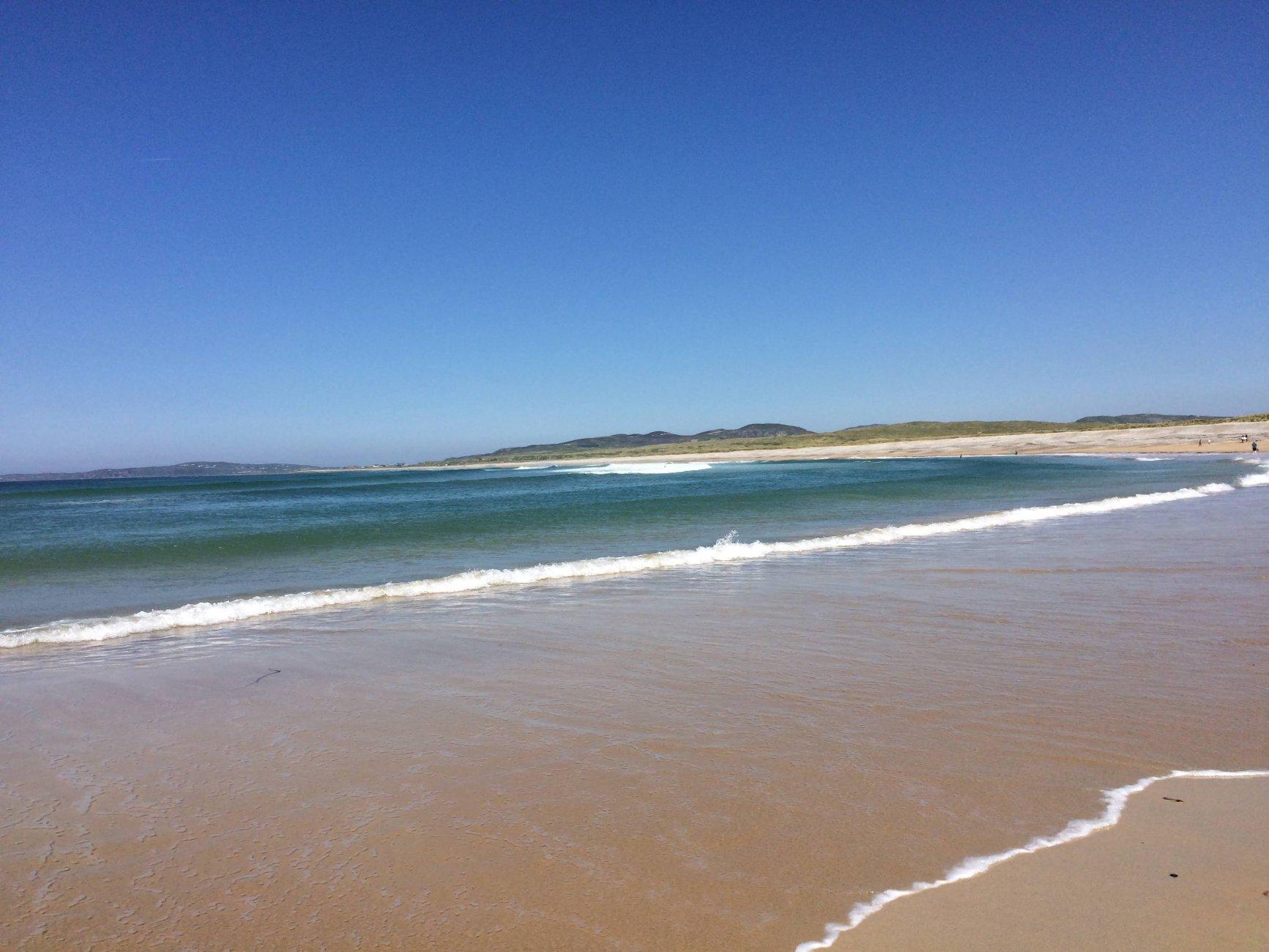 Ballyliffin beach Donegal Ireland