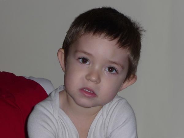 Michal- my grandson-A look that speaks everything... by elousteve