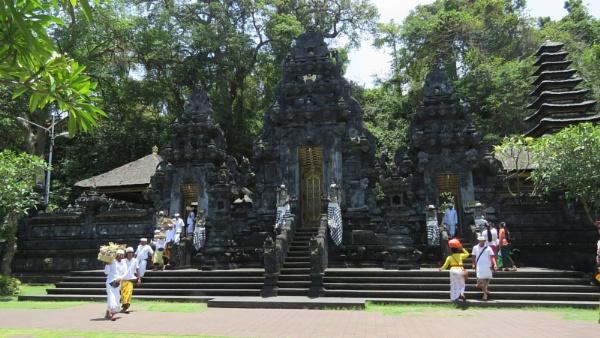 Temple in Candi Dasa, Bali by TheURL