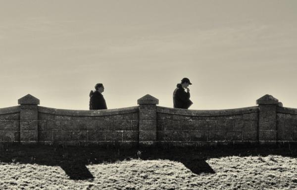 A walk along the promenade. by franken