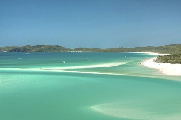 Whitehaven Beach Queensland by harrywatson