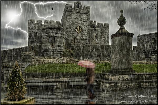 Rainy Castletown by TrevBatWCC