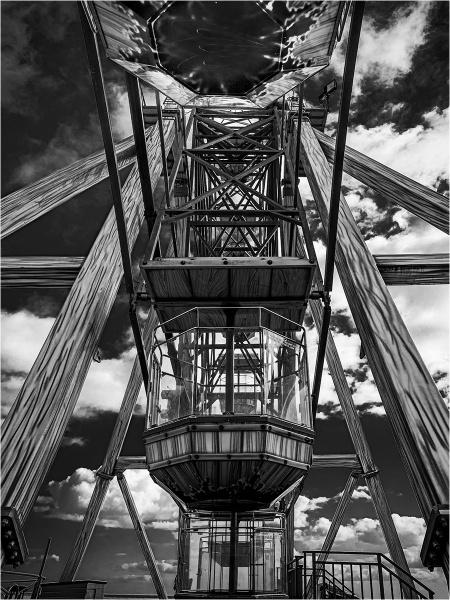 The Big Wheel, Bridlington by Dixxipix