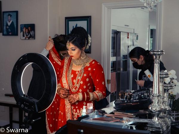 Bride getting ready II ... by Swarnadip