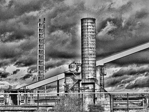 DERELICT INDUSTRIAL BUILDINGS. by kojack