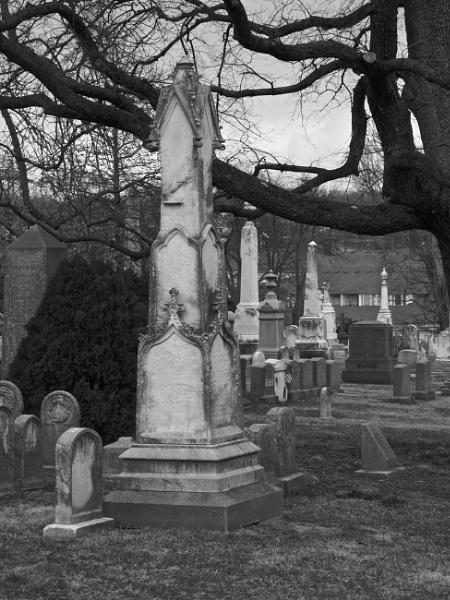 Laurel Hill Cemetery #3 by handlerstudio