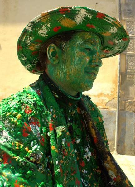 The Green Man by HuddersfieldHil