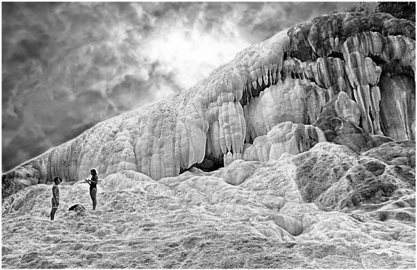 The White Whale  (Hot Spring in Bagni San Filippo) by ZenTony