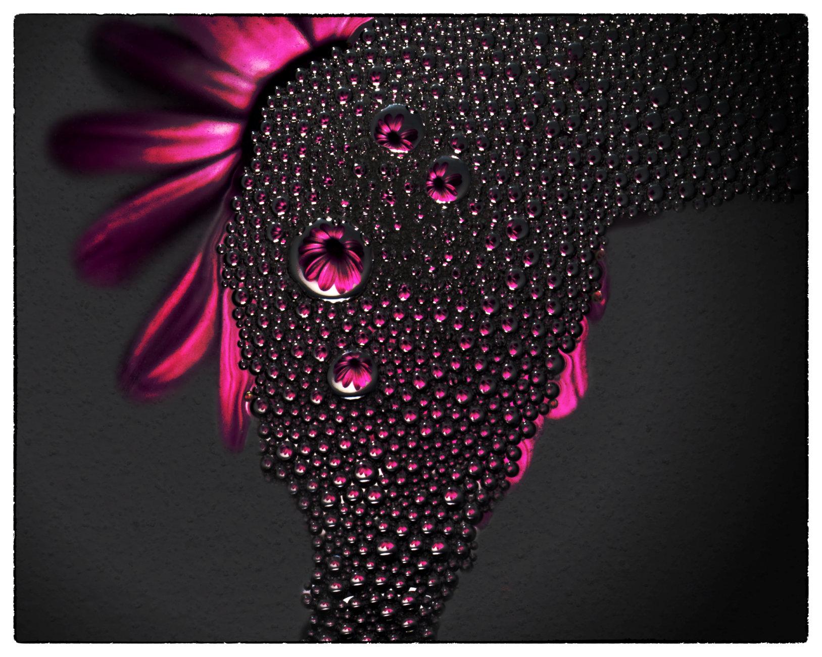 Flowery bubbles