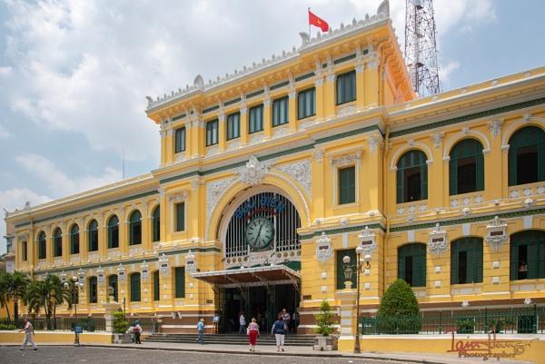 Saigon Central Post Office by IainHamer