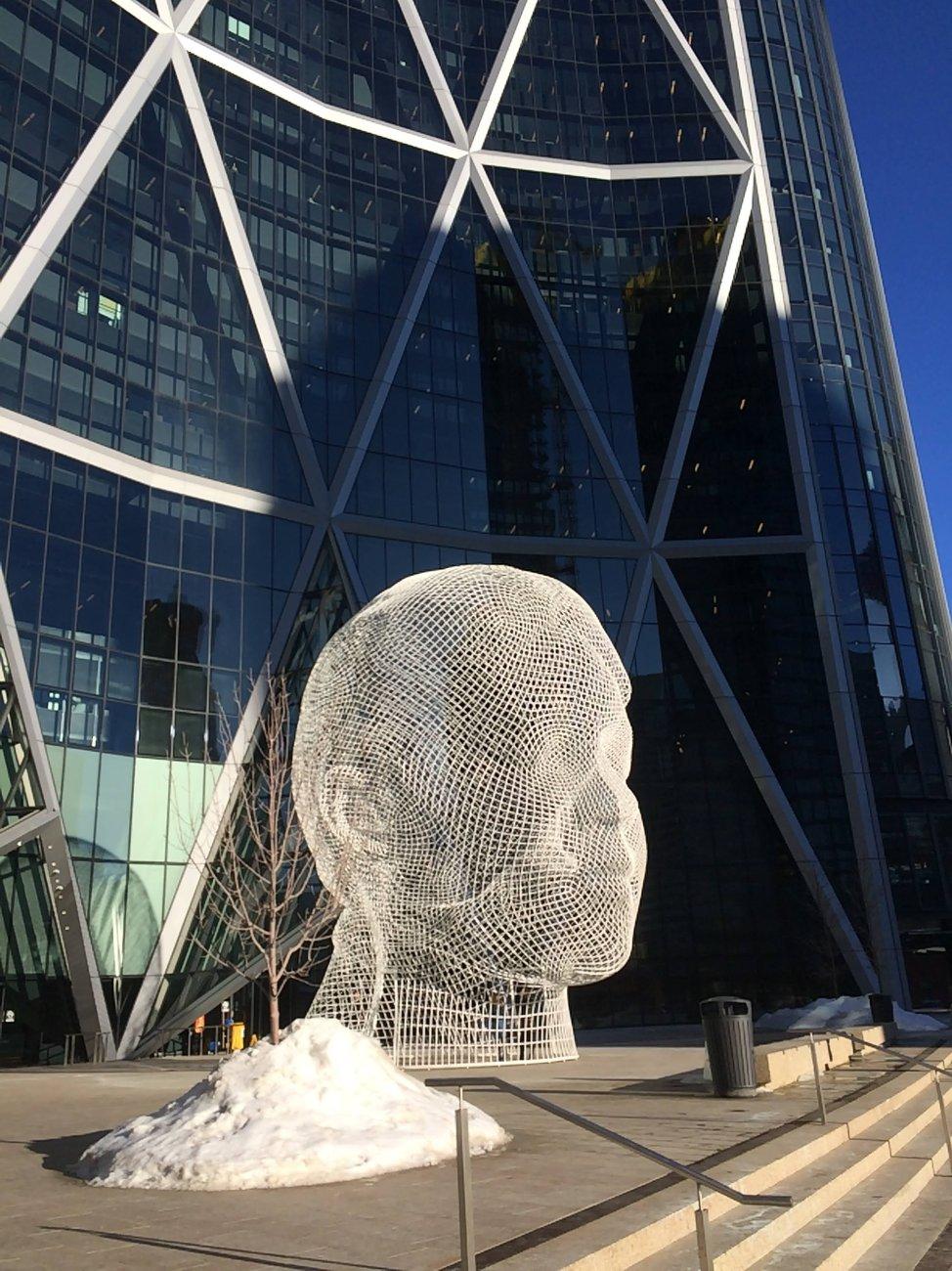 Cool sculpture Calgary Alberta Canada