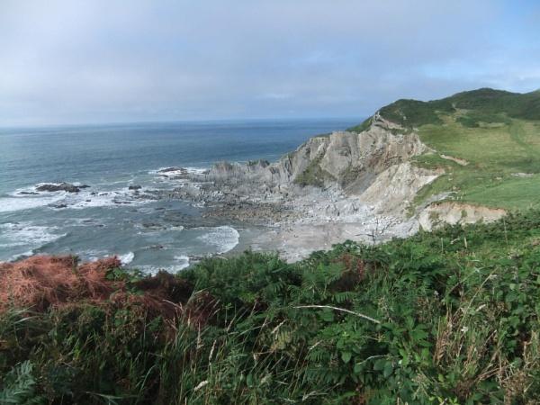 North Devon Coastline near Mortenhoe by topcatj