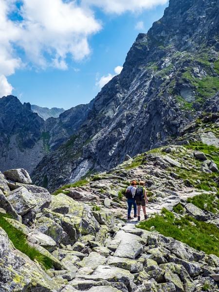 Trekking In The Tatras Mountains by Xandru